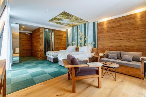 皮诺自然酒店 - 萨拉热窝 - 睡房