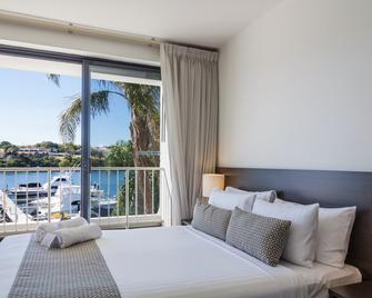 21号码头公寓酒店式酒店 - 弗里曼特尔 - 睡房