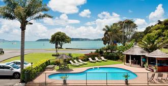 安克雷奇汽车旅馆 - 派西亚 - 游泳池