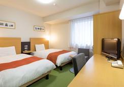 山形舒适酒店 - 山形市 - 睡房