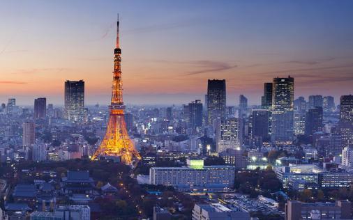 堪扣库坎商务酒店 - 东京 - 户外景观