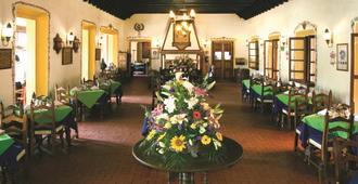 唐瓦斯科贝斯特韦斯特优质酒店 - 帕茨夸罗 - 餐馆