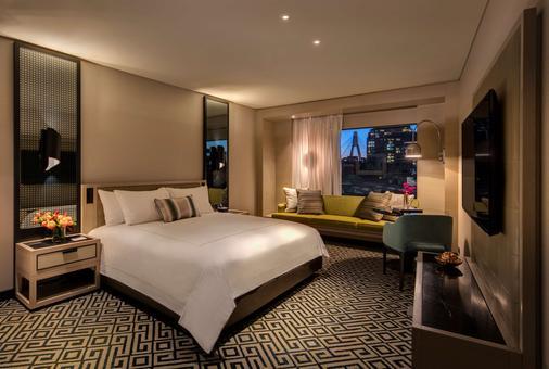 星空精灵旅馆 - 悉尼 - 睡房