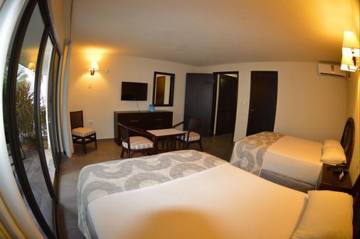 坎昆新浪套房酒店 - 坎昆 - 睡房