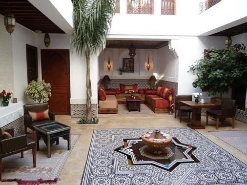 里亚德生活酒店 - 马拉喀什 - 露台