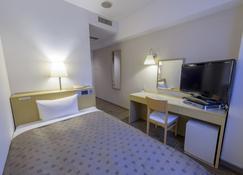 水户庭院酒店 - 水戶市 - 睡房