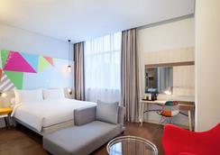 雅加达森特宜必思尚品酒店 - 北雅加达 - 睡房