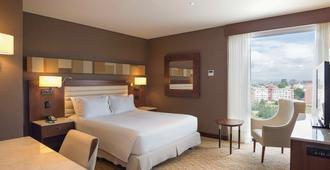 波哥大街 100 号美居酒店 - 波哥大 - 睡房
