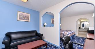 休斯頓布魯克nw美洲最佳價值套房酒店 - 休斯顿 - 客厅