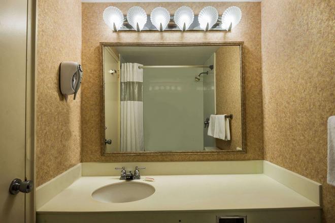 大西洋城海滨浮桥戴斯酒店 - 大西洋城 - 浴室