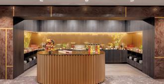 德累斯顿比尔德伯格贝尔维尤酒店 - 德累斯顿 - 自助餐