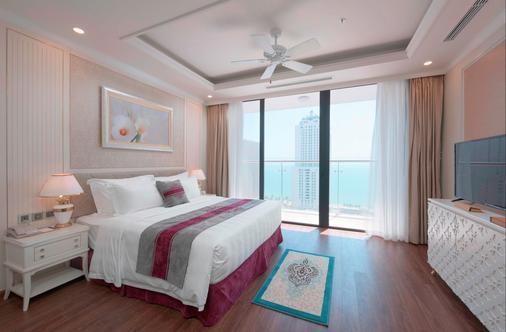 芽庄芬珍珠帝国公寓式酒店 - 芽庄 - 睡房