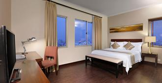 阿斯顿马丽娜安可儿酒店及公寓 - 北雅加达 - 睡房