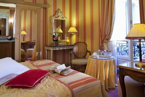 查皮吉斯艾丽西斯酒店 - 巴黎 - 睡房