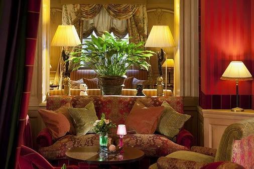 香碧歌舍丽榭酒店 - 巴黎 - 客厅