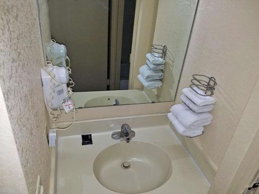 埃文斯维尔美洲最佳价值酒店 - 埃文斯维尔 - 浴室
