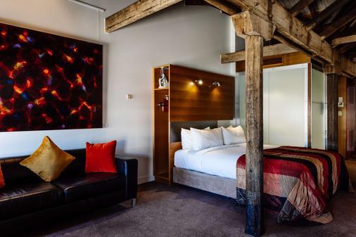 亨利琼斯艺术酒店 - 霍巴特 - 睡房