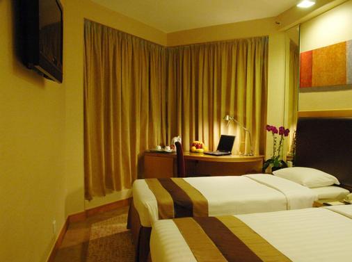 香港仕德福酒店 - 香港 - 睡房