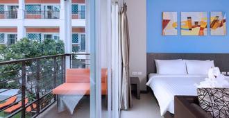 芭提雅第四酒店 - 芭堤雅 - 睡房