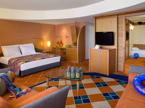 丹埃拉特酒店 - 埃拉特 - 睡房