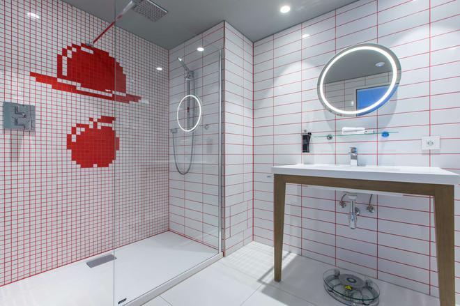 布鲁塞尔欧盟丽笙布鲁酒店 - 布鲁塞尔 - 浴室