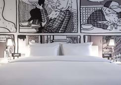 布鲁塞尔欧盟丽笙布鲁酒店 - 布鲁塞尔 - 睡房