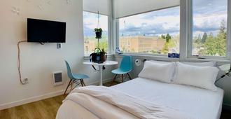 现代罗斯福城市开放式公寓酒店 - 西雅图 - 睡房