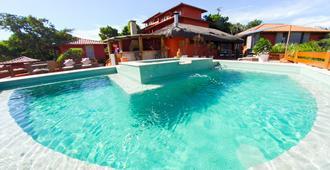 阿斯达精品酒店 - 布希奥斯 - 游泳池