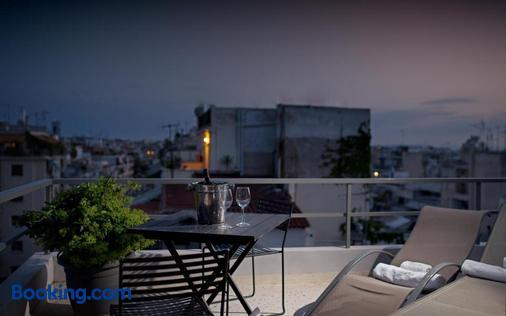 埃里奥酒店 - 雅典 - 阳台