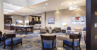 佛羅里達州傑克遜維爾河濱希爾頓逸林酒店 - 杰克逊维尔 - 休息厅