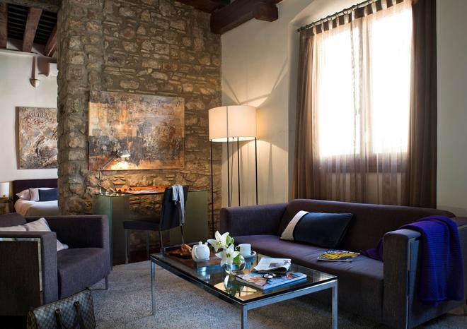 巴塞罗那美世波利亚酒店 - 巴塞罗那 - 客厅