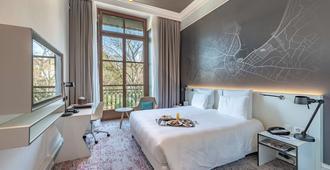 日内瓦城市瑞士酒店 - 日内瓦 - 睡房
