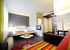 哈利之家多恩比恩公寓式酒店 - 多恩比恩 - 睡房