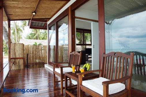 利帕别墅度假村 - 苏梅岛 - 阳台