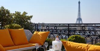 巴黎拉斐尔酒店 - 巴黎 - 阳台