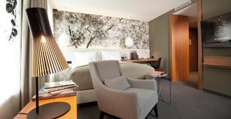杜塞尔多夫米恩昂酒店 - 杜塞尔多夫 - 客厅