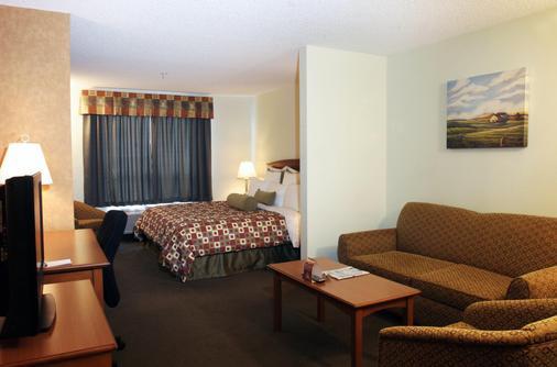 卡尔加里优质服务套房酒店 - 卡尔加里 - 睡房