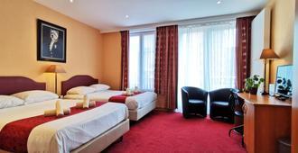 加的夫酒店 - 奥斯坦德 - 睡房