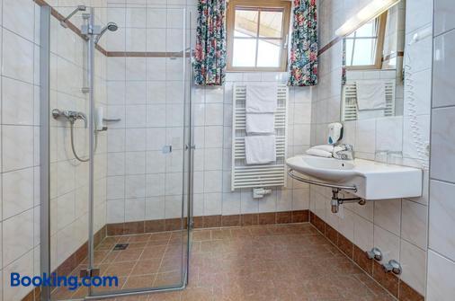 扎加阿姆山地酒店 - 滨湖采尔 - 浴室