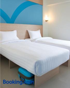 扑扑旅舍马尼拉埃尔米塔酒店 - 马尼拉 - 睡房