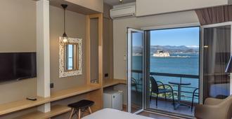 阿伽门农酒店 - 纳夫普利翁 - 睡房