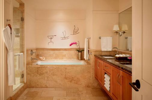 蒙太奇卡帕鲁亚湾酒店 - 拉海纳 - 浴室
