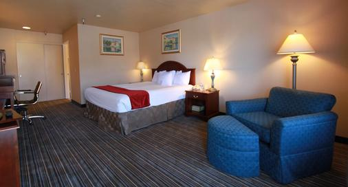 城市冲浪贝斯特韦斯特酒店 - 亨廷顿海滩 - 睡房