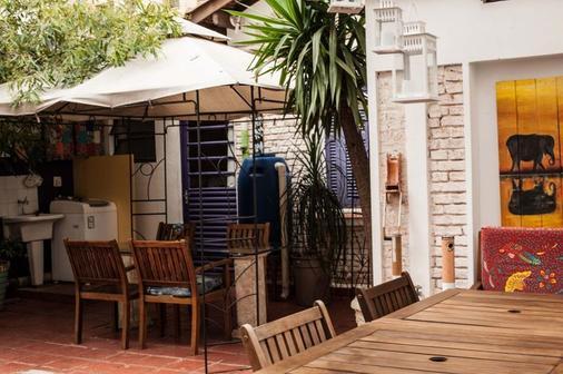 紫阁旅馆 - 圣保罗 - 露台