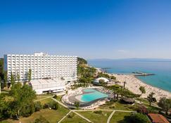 帕里尼海滩 G 酒店 - Kassandreia - 餐馆