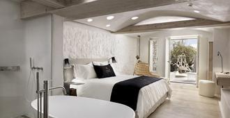 奥诺斯肯索酒店 - 米科諾斯岛 - 睡房