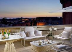 蒙泰马丁尼宫廷酒店 - 罗马 - 阳台