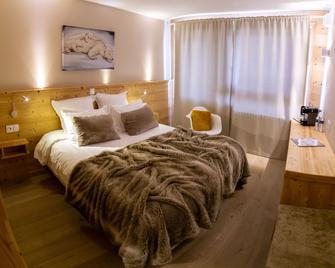 弗洛孔酒店 - 莱德萨阿尔卑斯 - 睡房