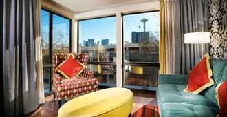 西雅图麦克斯韦酒店 - 西雅图 - 客厅