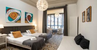 卡萨玛卡旅馆 - 巴塞罗那 - 睡房